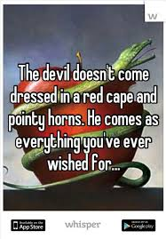 devil and wishes